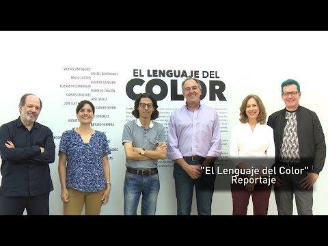 Exposición El lenguaje del color